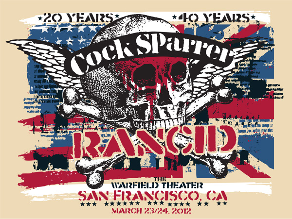 Cock Sparrer with Rancid